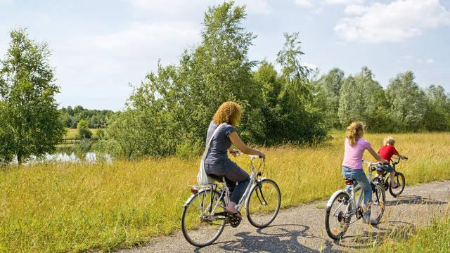Fietsen Vakantiepark Center Parcs Limburgse Peel