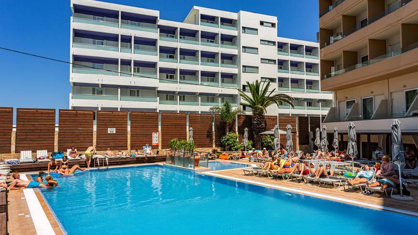 Rhodos Horizon Blu - Zwembad Hotel Rhodos Horizon Blu