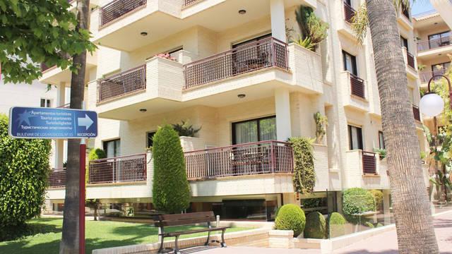 Facade Appartementen Albir Confort Avenida