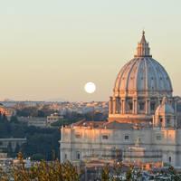 Vaticaanstad op ca. 45 minuten wandelen