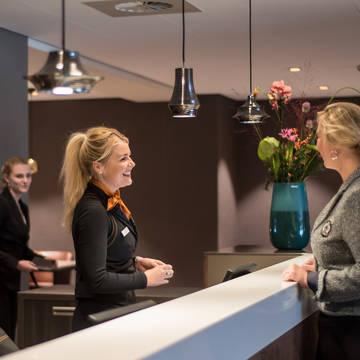 Receptie Bilderberg Europa Hotel Scheveningen