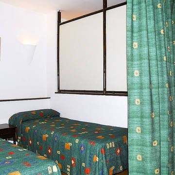 Voorbeeld slaapkamer 3 Appartementen Jardines del Mar