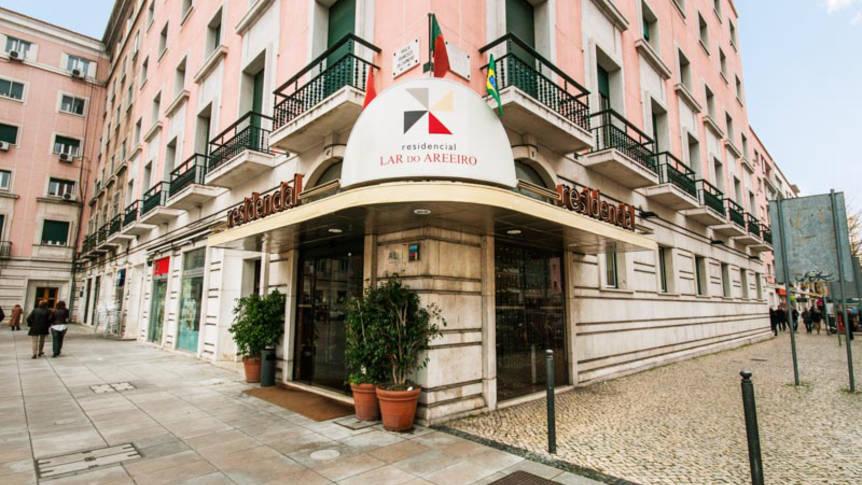 Voorzijde Hotel Residencial Lar do Areeiro