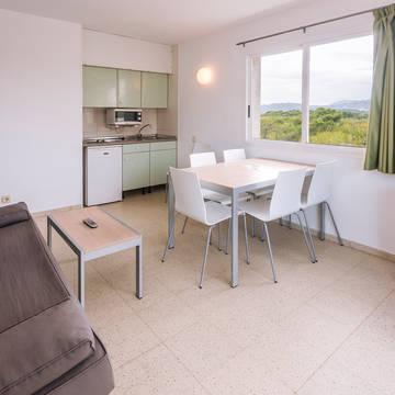 Woonvoorbeeld Appartementen Solmar