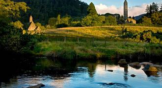 Glendalough landschap