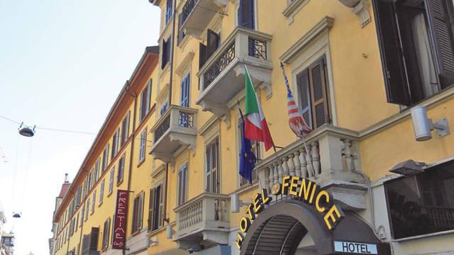 Voorzijde Hotel Fenice