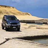 Auto op Gozo