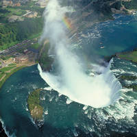 Niagara Falls vanuit de lucht