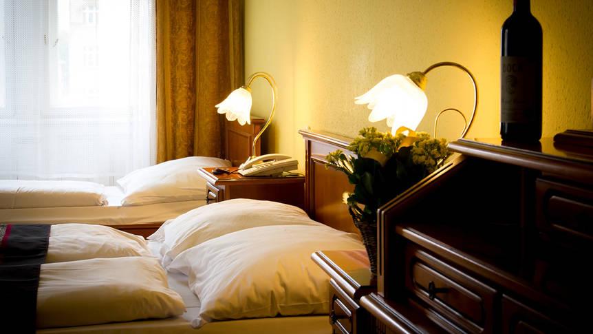 3-persoonskamer Hotel Unio