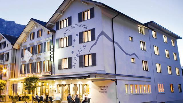 Buitenaanzicht Hotel Alpbach