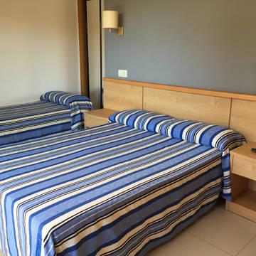 Voorbeeldkamer Hotel Bon Repòs