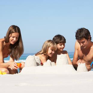 zandkasteel familie