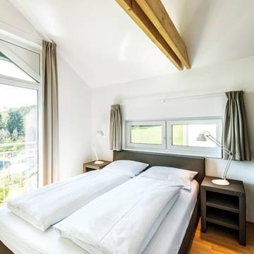 Voorbeeld slaapkamer Feriendorf an der Therme Obernsees