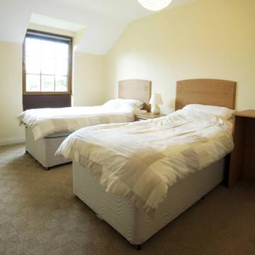 Voorbeeld slaapkamer Kenmare Vakantiewoningen