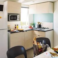 3-kamer stacaravan Comfort Deluxe - keuken