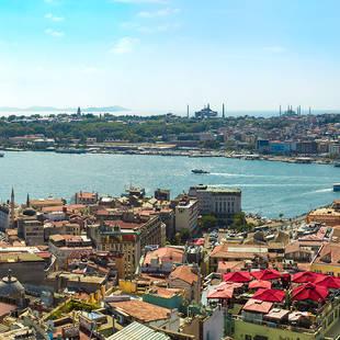 Stadsoverzicht Istanbul
