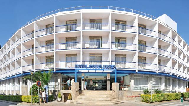 Voorzijde Hotel GHT Costa Brava Tossa & Spa