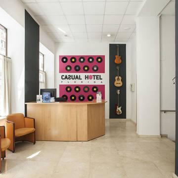 Receptie Hotel Casual Valencia de la Musica