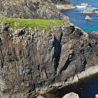 Isle of Lewis, butt of Lewis - Lewisian Gneiss gesteente