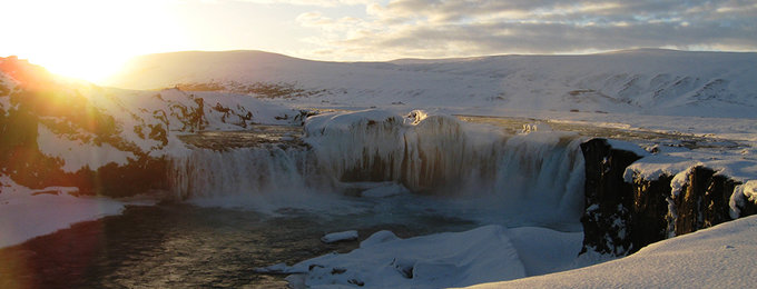 Wintersport IJsland