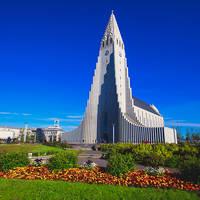 Hallgrimskirkja Kerk Reykjavik
