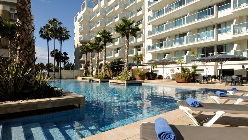Zwembad Hotel Blaumar