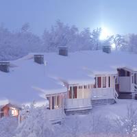 Hotelkamers onder de sneeuw