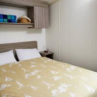 Voorbeeld slaapkamer met 2-persoonsbed type Standard