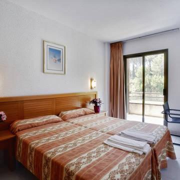 Voorbeeld slaapkamer-1 Golf Beach appartementen & Villa's