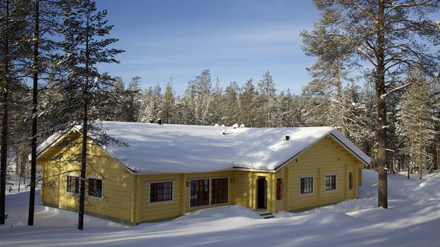 Exterieur bungalow Pan Village Oulanka Bungalows