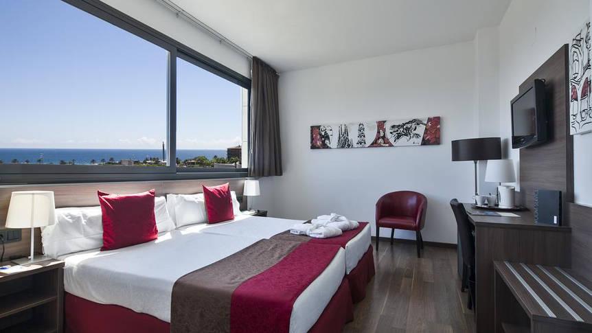 Kamer 4 Hotel Barcelona