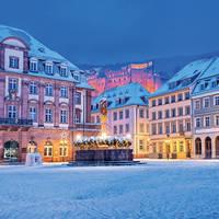 5 daagse busreis Kerst nabij historisch Heidelberg