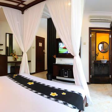 Voorbeeld Deluxe Garden kamer Candi Beach Resort & Spa