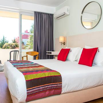 Voorbeeld kamer Hotel Londres