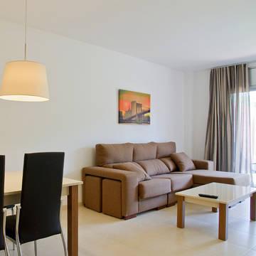 Interieur voorbeeld Appartementen Paradise Rentalmar