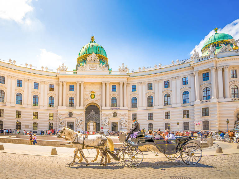 Wenen - Hofburg)