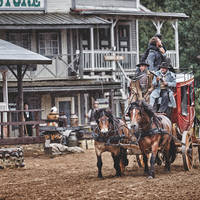 High Chaparral - Wild west show