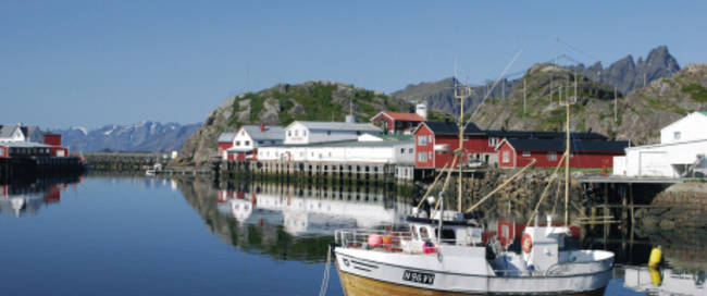 Lofoten - Mortsund Haven