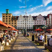 Bergen The Fish market in Bergen - Foto: Robin Strand