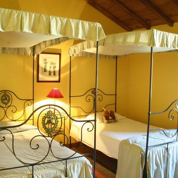 voorbeeld slaapkamer Quinta da Boa Viagem