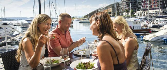 Oslo Lunch Onda Restaurant Aker Brygge