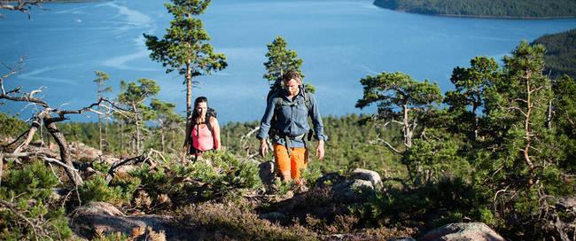 Wandeling Hoge Kust - Foto: Friluftsbyn Höga Kusten