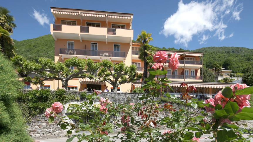 Vooraanzicht Hotel Dellavalle