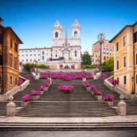 Spaanse trappen op ca. 25 minuten wandelen