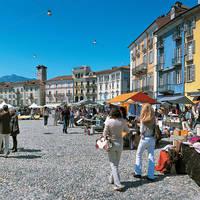 Market in Locarno