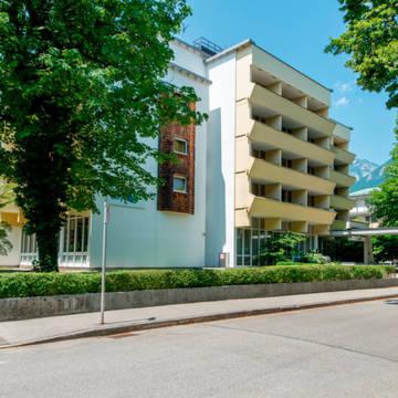 Buitenaanzicht Hotel Bayern Vital
