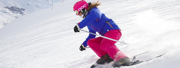 Wintersport Méribel