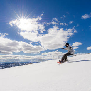 Trysil snowboarder