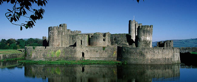 Wye Valley - Caerphilly Castle