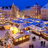 Kerstreis, kerstmarkt, Duitsland, Nordrhein Westfalen